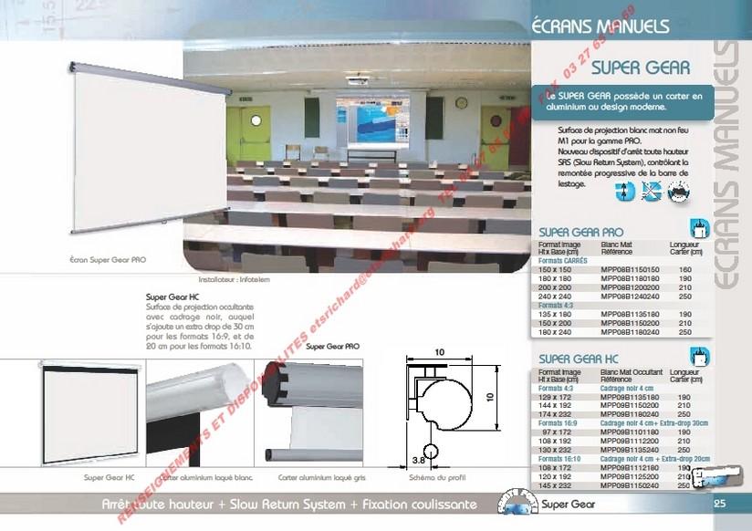 Ecran de projection for Ecran de projection mural manuel
